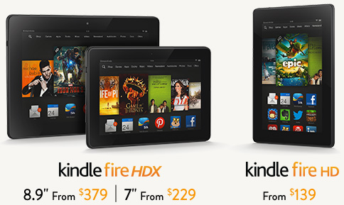 Amazon Kindle fire Series