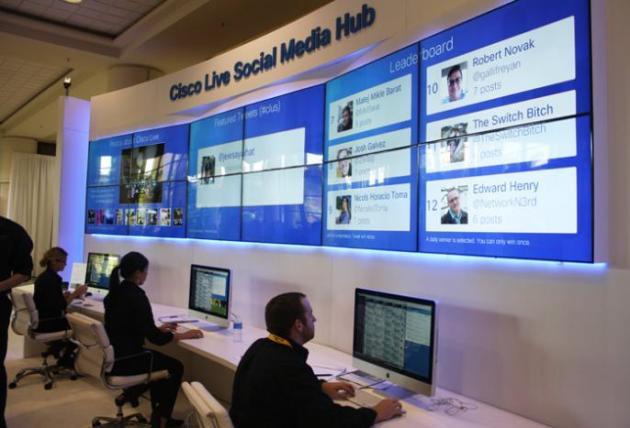 Cisco Live Social Media Hub