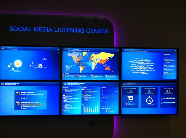 Cisco Social Media Listening Center