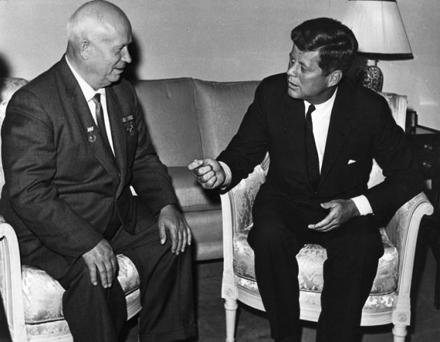 후루시쵸프 서기장과 케네디 대통령