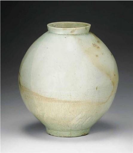 조선왕조, 백자 달항아리, 17-18세기