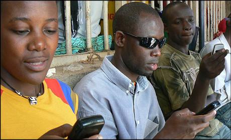 아프리카의 문자 설문조사