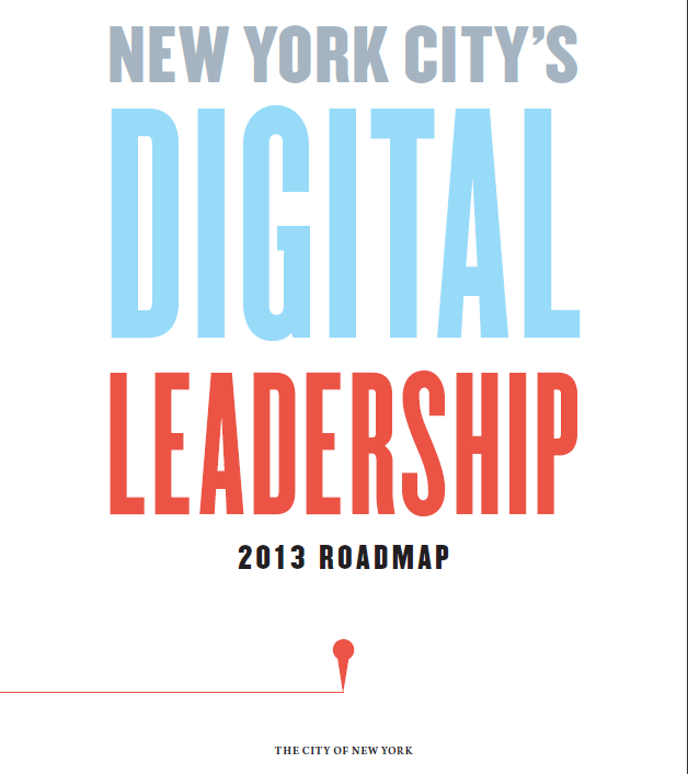 NY Digital City Roadmap 2013